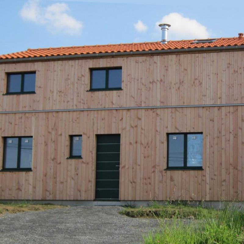 Maison ossature bois - Tierrhabitat - décembre 2015