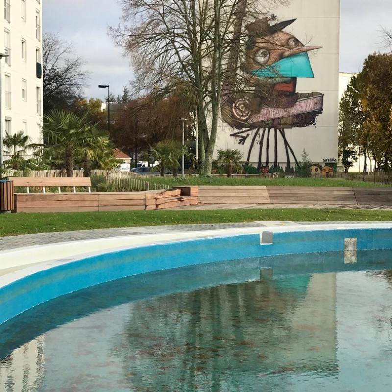 Mobilier urbain Petite Censive - Nantes Métropole Habitat - sept 2018